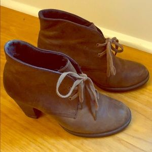 French leather ankle bootie by Clark's Indigo 5
